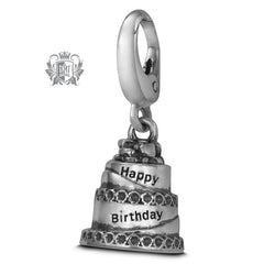 Happy Birthday Cake Charm -  Charm