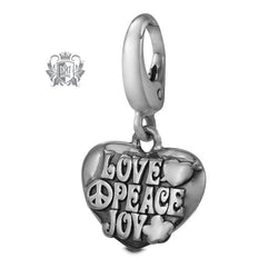Love Peace Joy Charm -  Charm
