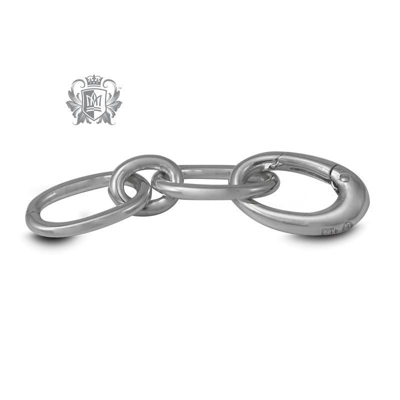 "1 1/4"" Ellipse Charm Bracelet Extension - Metalsmiths Sterling™ Canada"