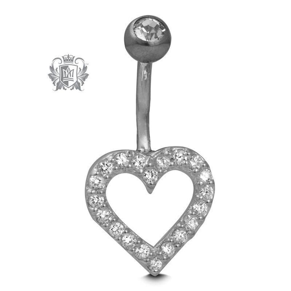 Sweet Heart Belly Jewel - Metalsmiths Sterling'Ñ¢ Canada