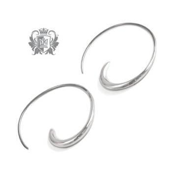 Large Swirl Hangers - Metalsmiths Sterling™ Canada