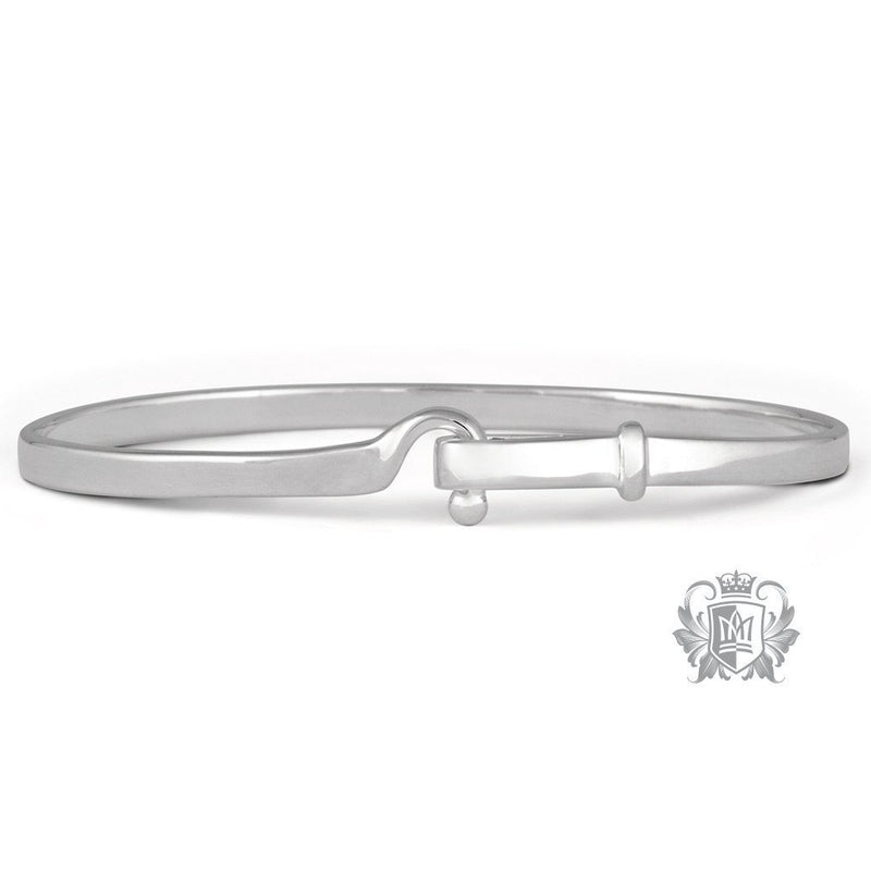 Designer Hook Bangle - Metalsmiths Sterling™ Canada