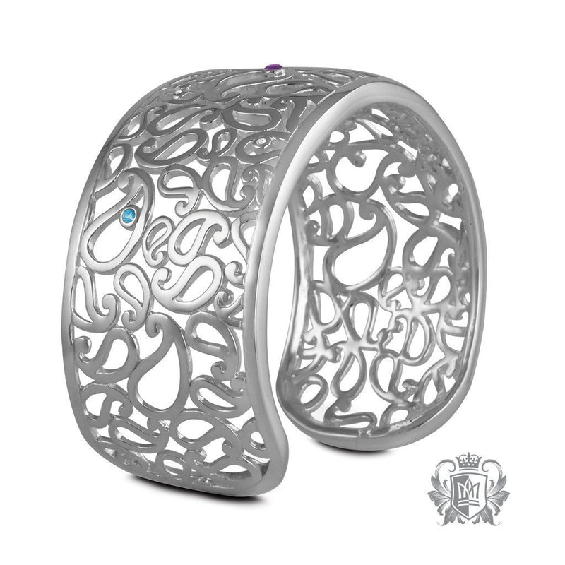 Paisley Bangle - Metalsmiths Sterling™ Canada