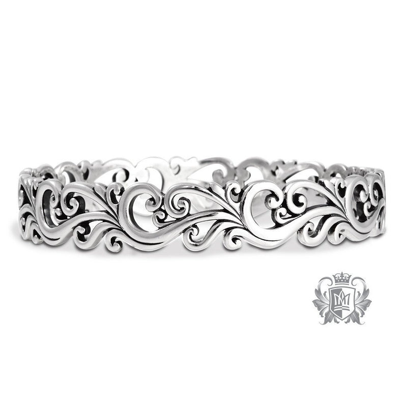 Scroll Bangle - Metalsmiths Sterling™ Canada