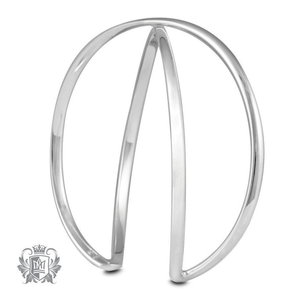 Crossover Bangle - Metalsmiths Sterling'Ñ¢ Canada