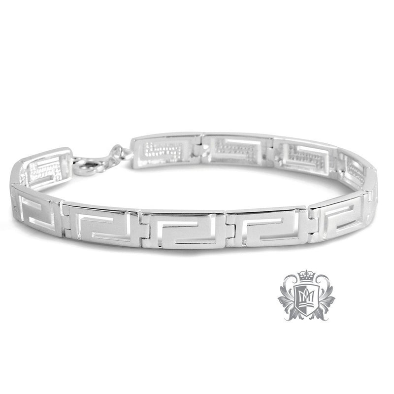 Large Greek Key Bracelet - Metalsmiths Sterling™ Canada