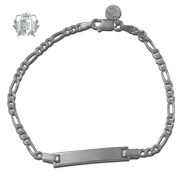 Small Figaro ID Bracelet (80 gauge) - Metalsmiths Sterling'Ñ¢ Canada