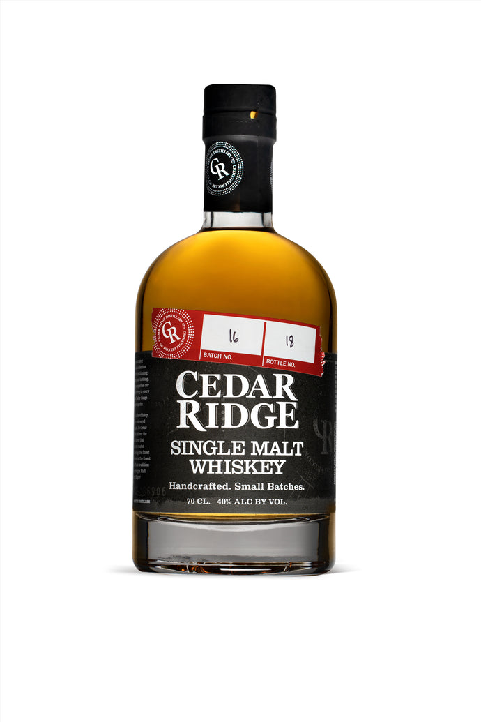 Cedar Ridge Single Malt Whisky
