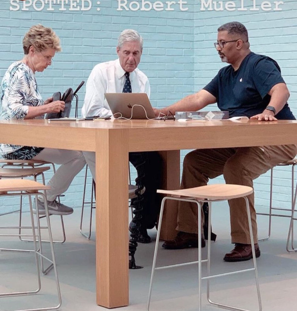 robert mueller at the genius bar