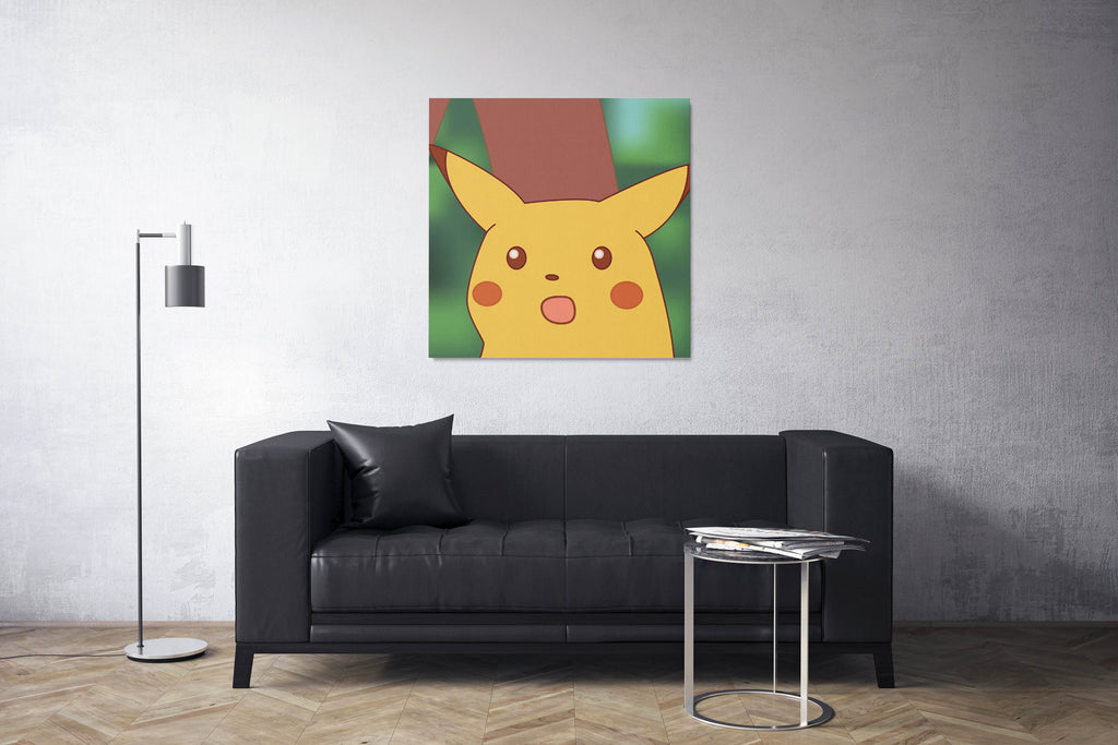 surprised pikachu