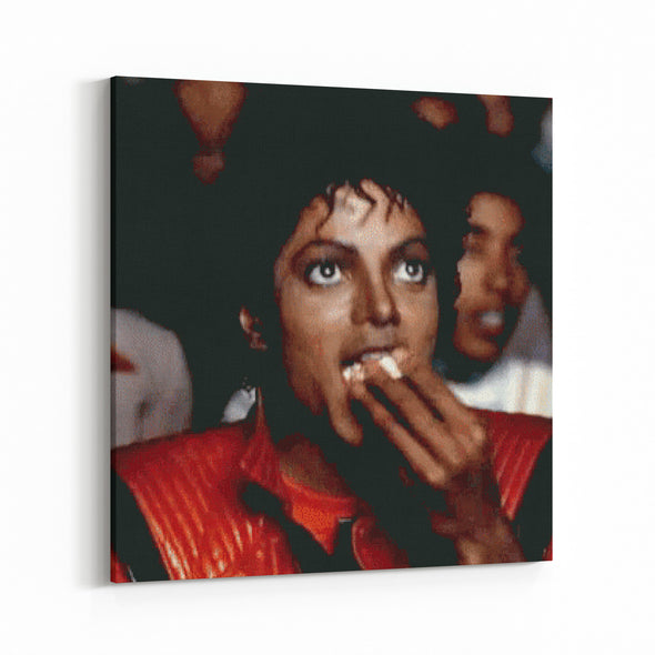michael jackson - popcorn reaction