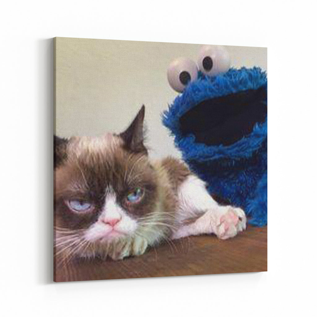 grumpy cat and grover