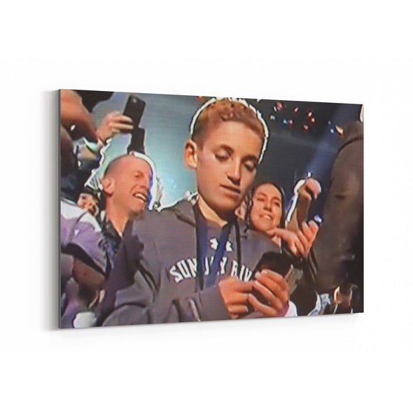 superbowl selfie kid