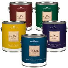 Benjamin Moore Regal Select Self Priming Interior Waterborne Paint