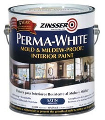 Zinsser Interior Paint Perma-White Mold and Mildew Proof