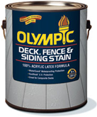 Olympic Deck, Fence & Siding Stain Solid Color