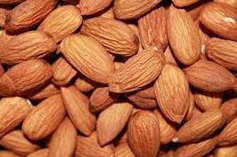 Almonds, available in 2lb, 10lb and 25lb options