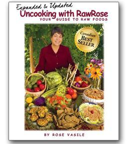 Uncooking with Raw Rose