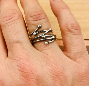 Twig Band Ring