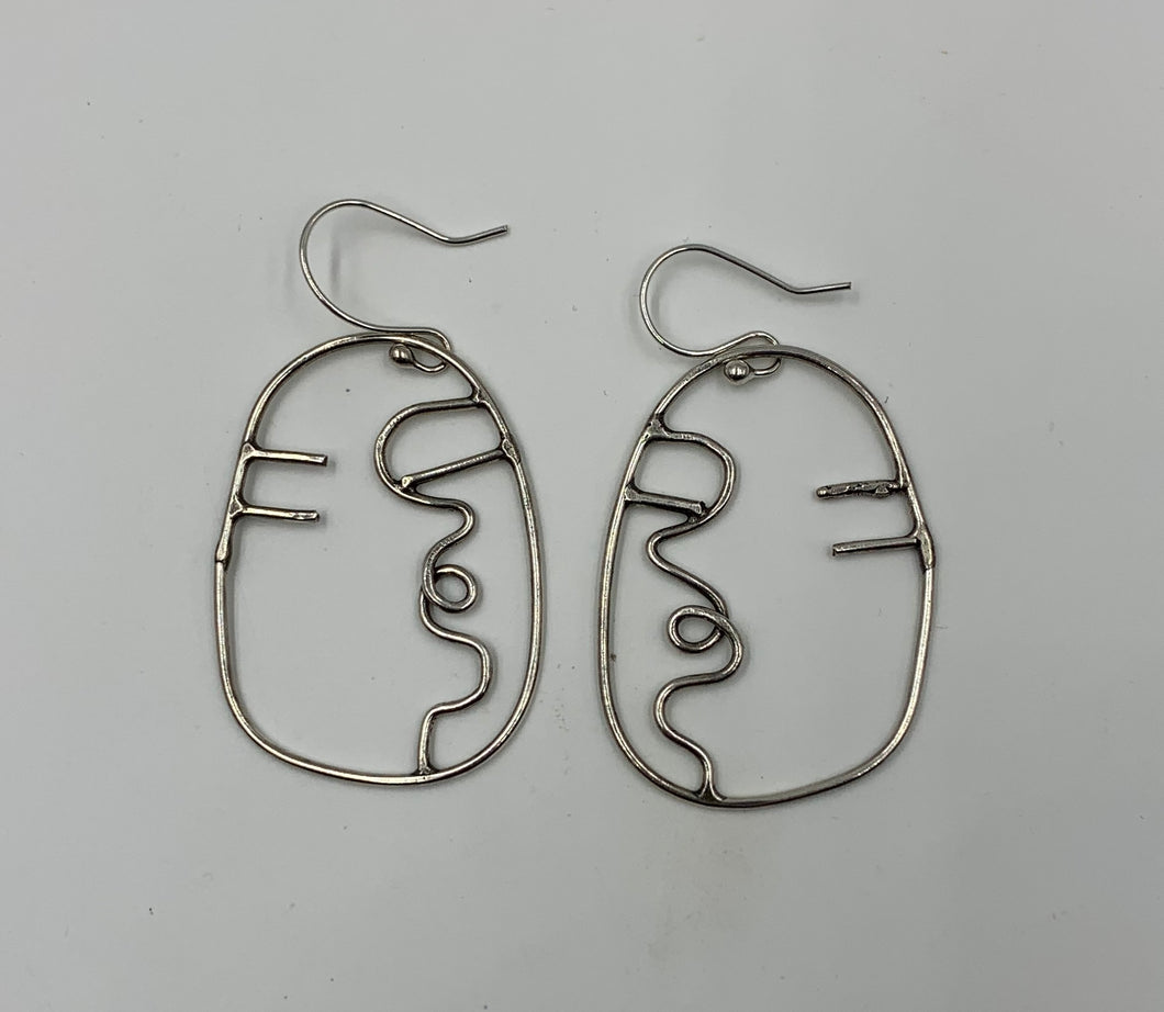 Smoochy Face earrings