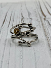 Load image into Gallery viewer, Silver Twig with Citrine