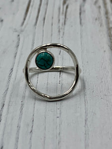 Olivia Ring with Turquoise Ring