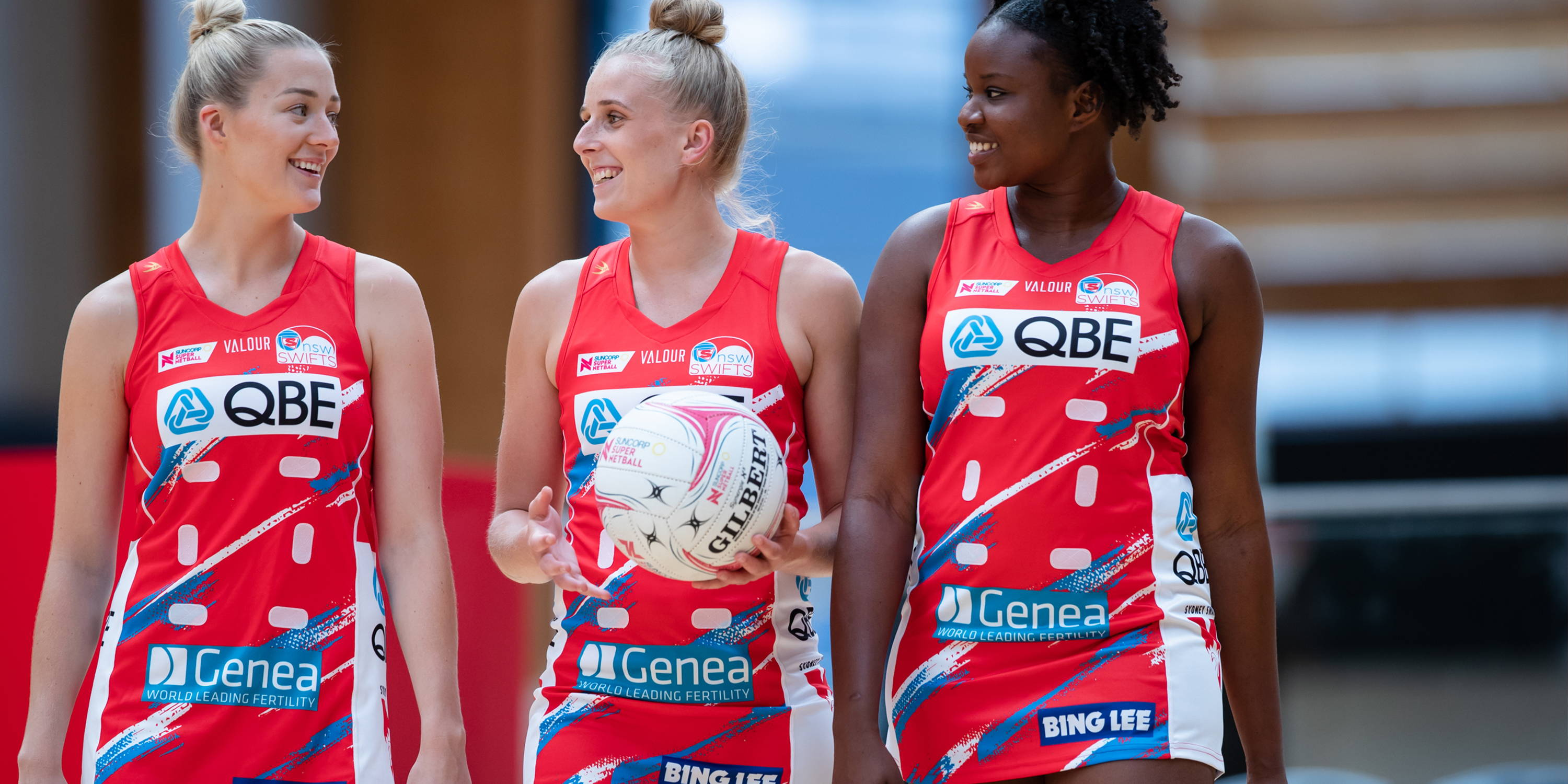 NSW Swifts x Valour = A premiership-winning partnership