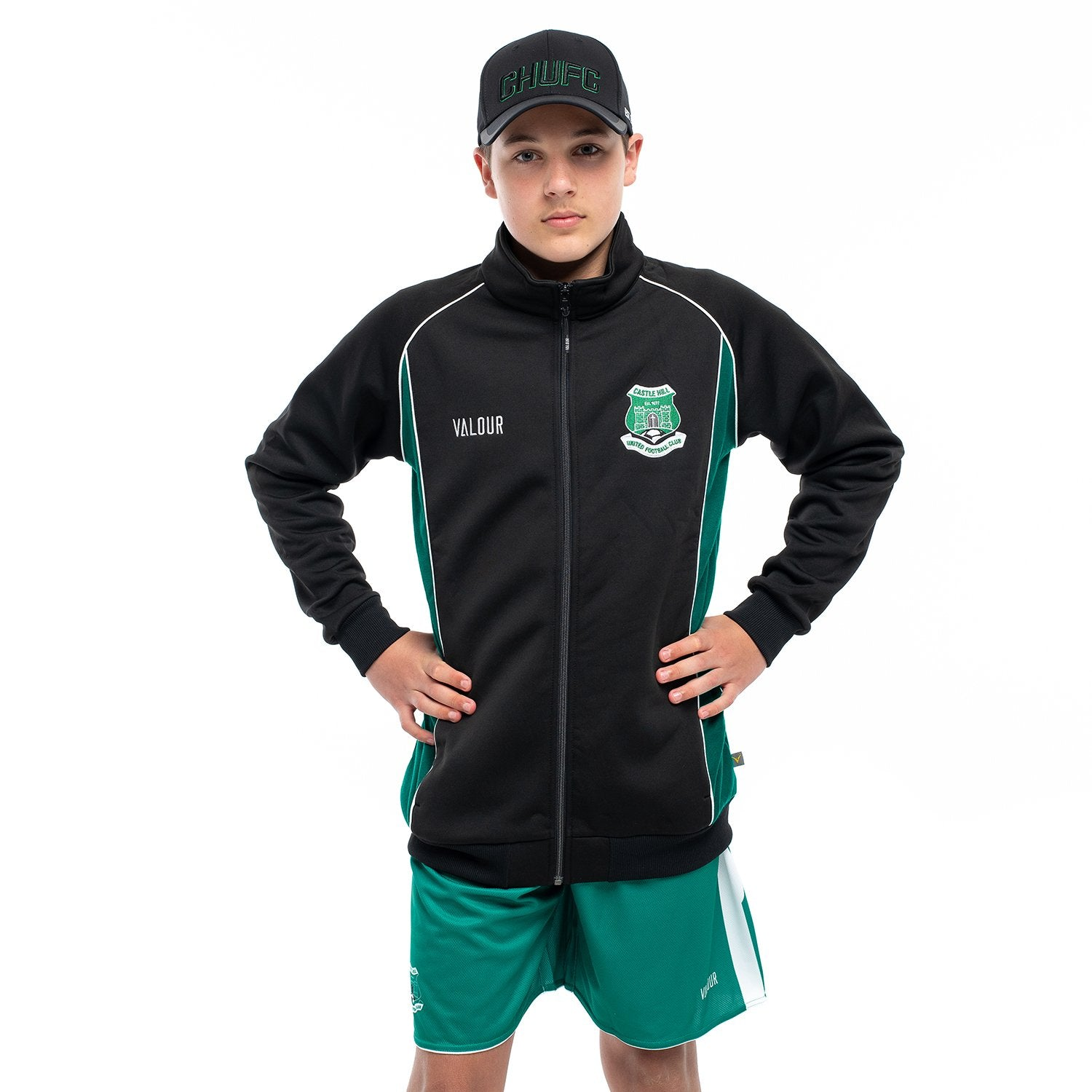 Castle Hill United FC Zip Jacket