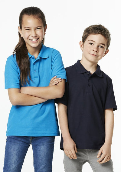The kids Crew Polo is a school or sports team wardrobe staple.