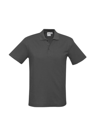Mens Crew Polo - Charcoal