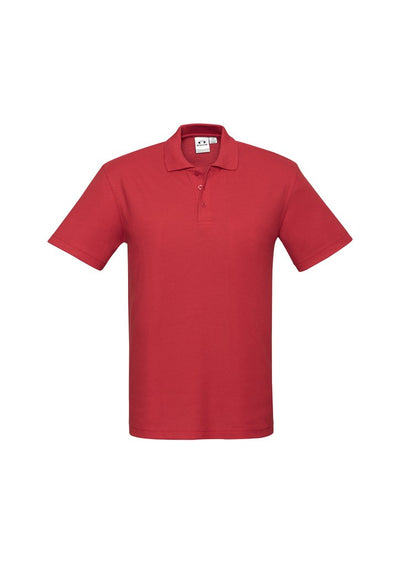 Kids Crew Polo (Style P400KS) - Red