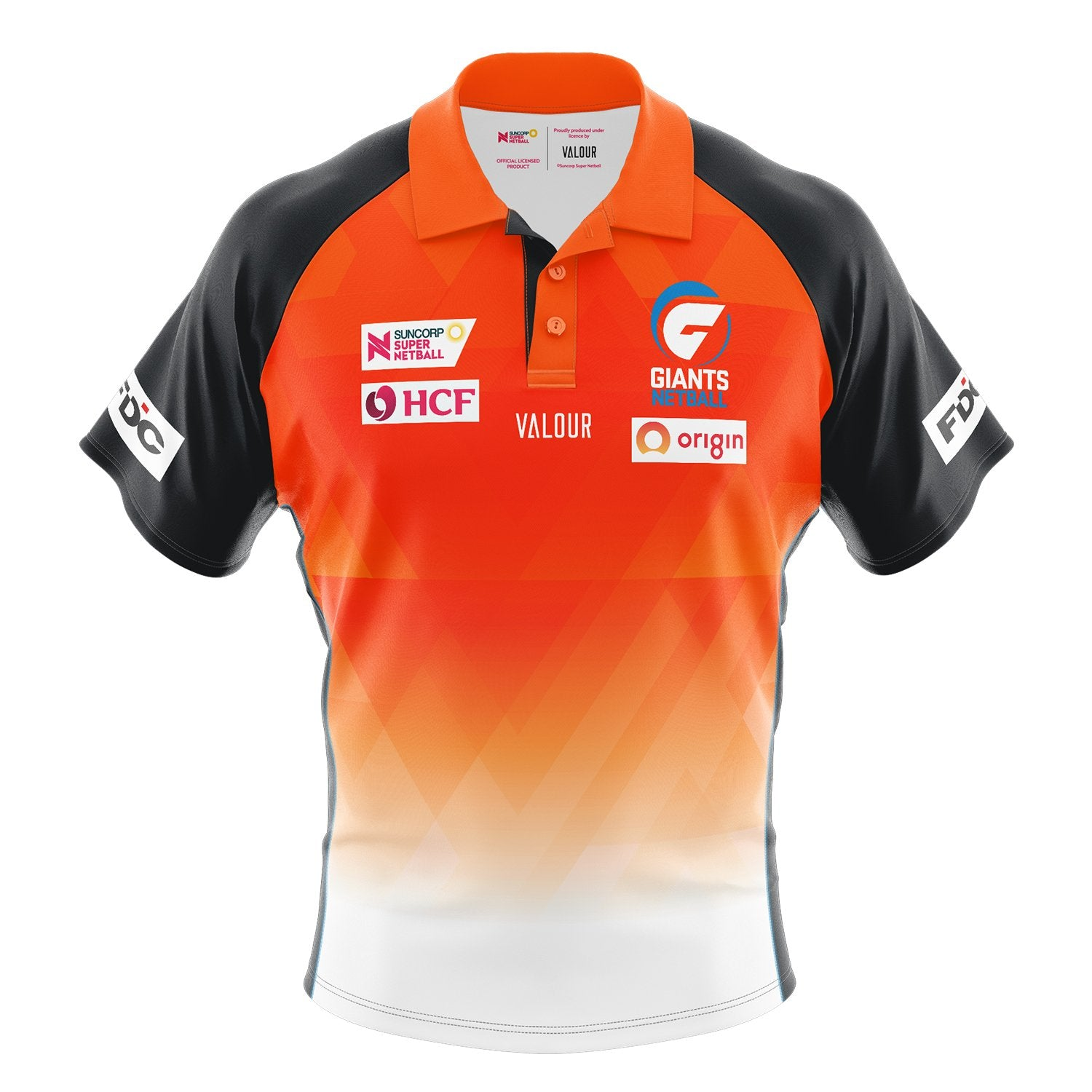 GIANTS Netball Replica Polo-Mens