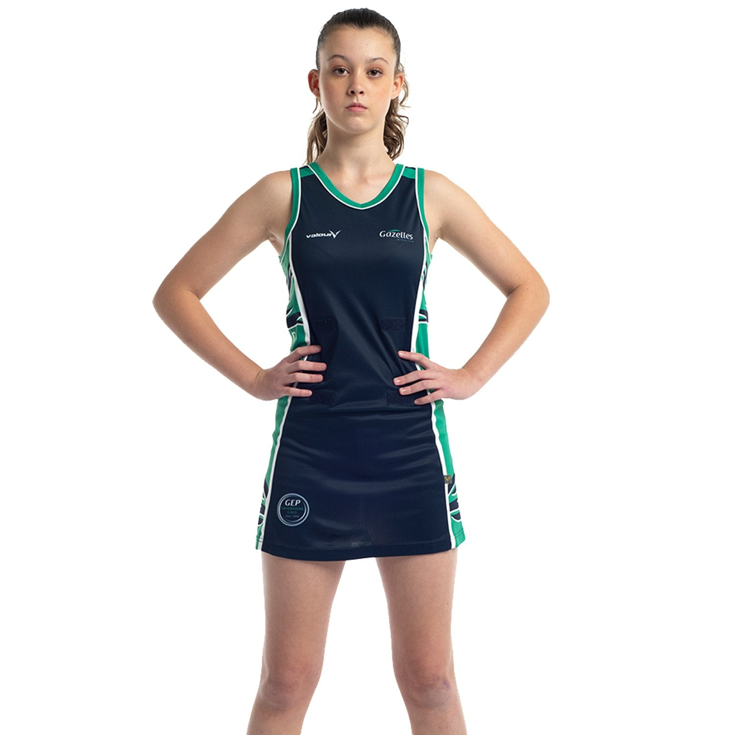 Gazelles Netball Club A-Line Netball Dress & Boy Leg Briefs