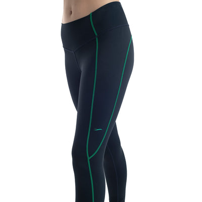 Gazelles Netball Club 7/8 Lycra Tights by Valour Sport - side view