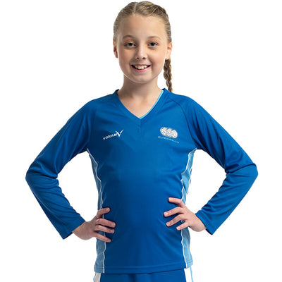 Kellyville Netball Club Long Sleeve Tee by Valour Sport - front view