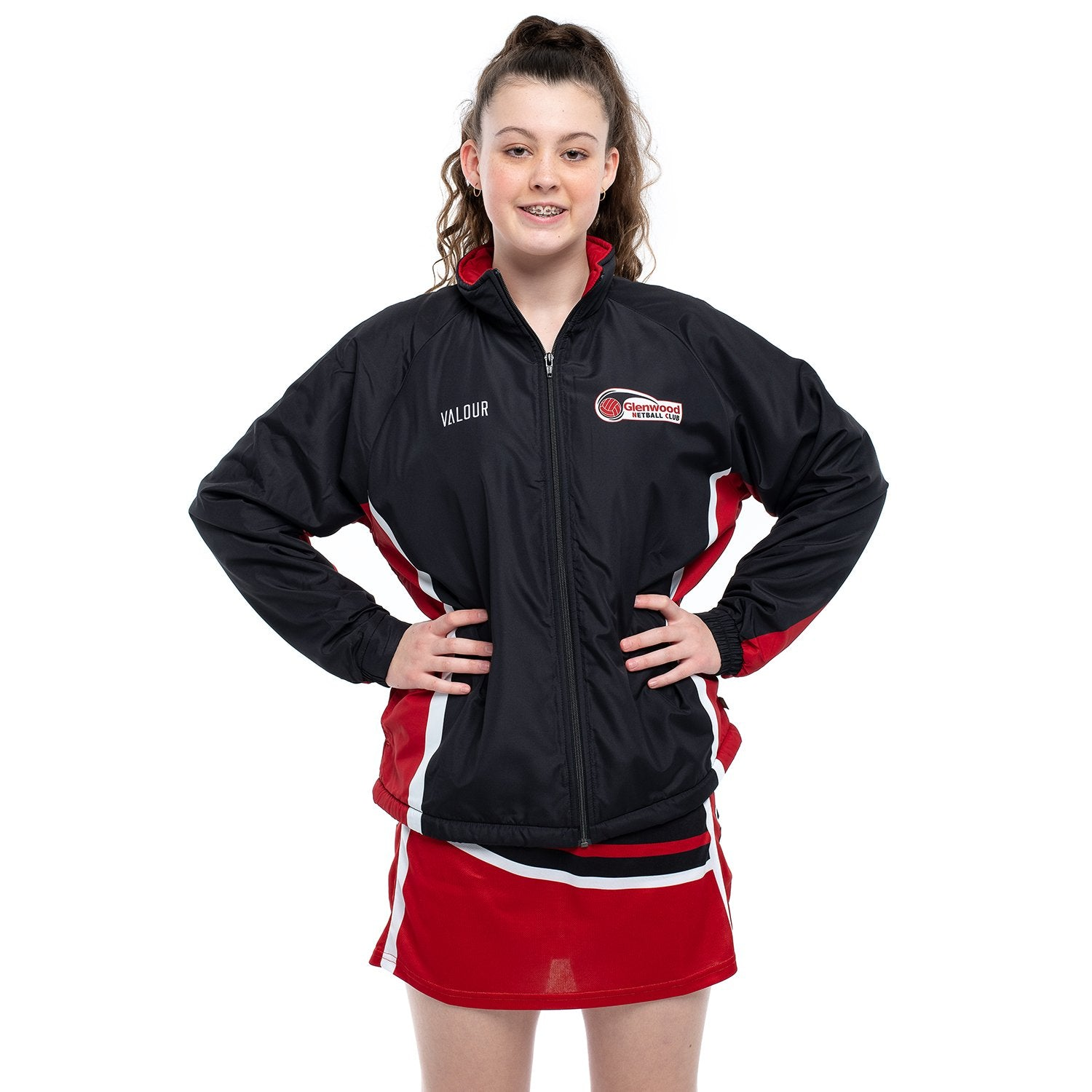 GLENWOOD NETBALL CLUB PLAYERS JACKET
