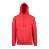 The warmest hoodie on earth - Mens Kangaroo Pocket RAMO Hoodie in Coral Red