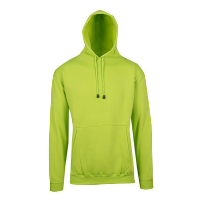 The warmest hoodie on earth - Mens Kangaroo Pocket RAMO Hoodie in Lime Green
