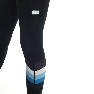 Kellyville Netball Club Black 7/8 Compression Tights by Valour Sport – feature panel
