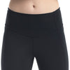 Kellyville Netball Club Black 7/8 Compression Tights by Valour Sport – waistband detail