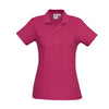 The perfect classic polo for your ladies crew - the Biz Collection Ladies Crew Polo in Fuchsia