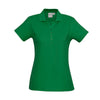The perfect classic polo for your ladies crew - the Biz Collection Ladies Crew Polo in Kelly Green