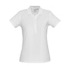 The perfect classic polo for your ladies crew - the Biz Collection Ladies Crew Polo in White