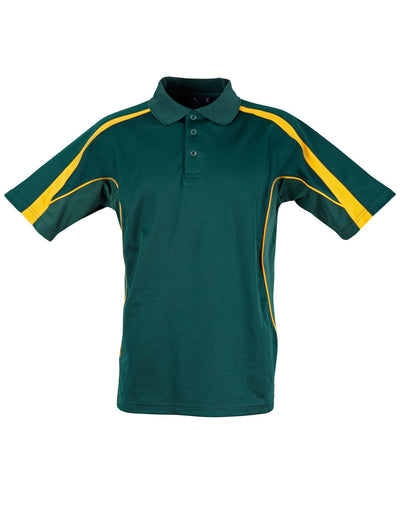 Legend Mens Polo in Bottle with Gold highlights
