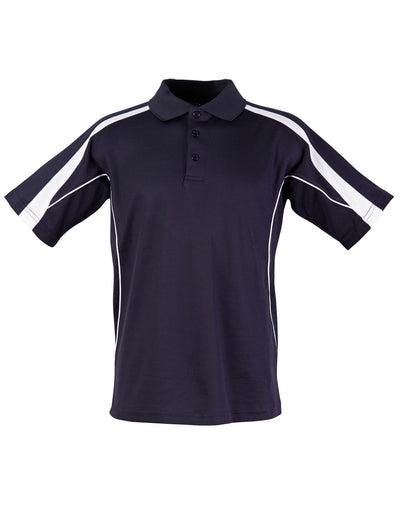 Legend Kids Polo in Navy with White highlights