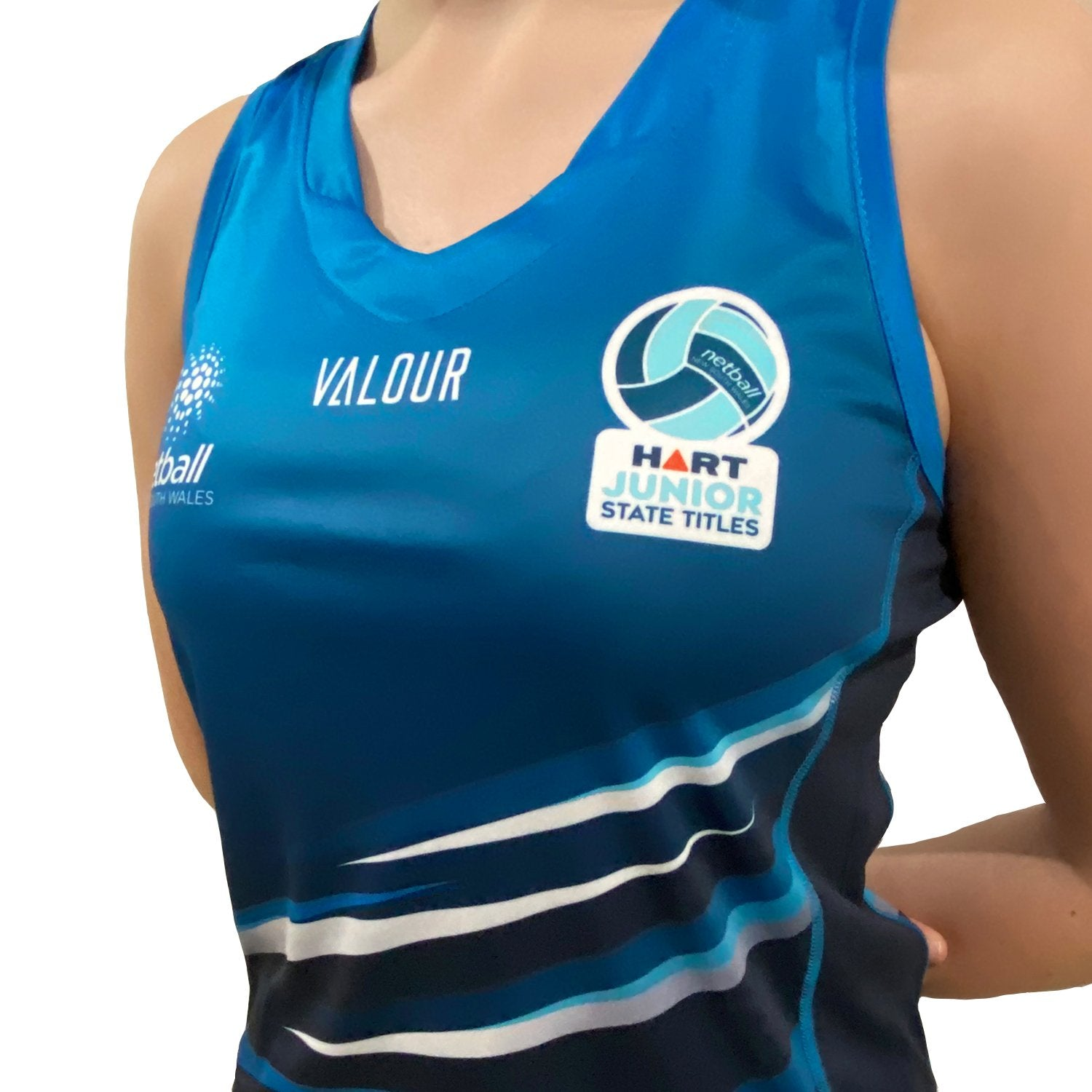 Netball NSW Junior State Titles Singlet