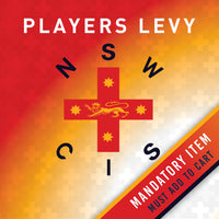 MANDATORY ITEM - PLAYERS LEVY - NSW CIS Golf Secondary