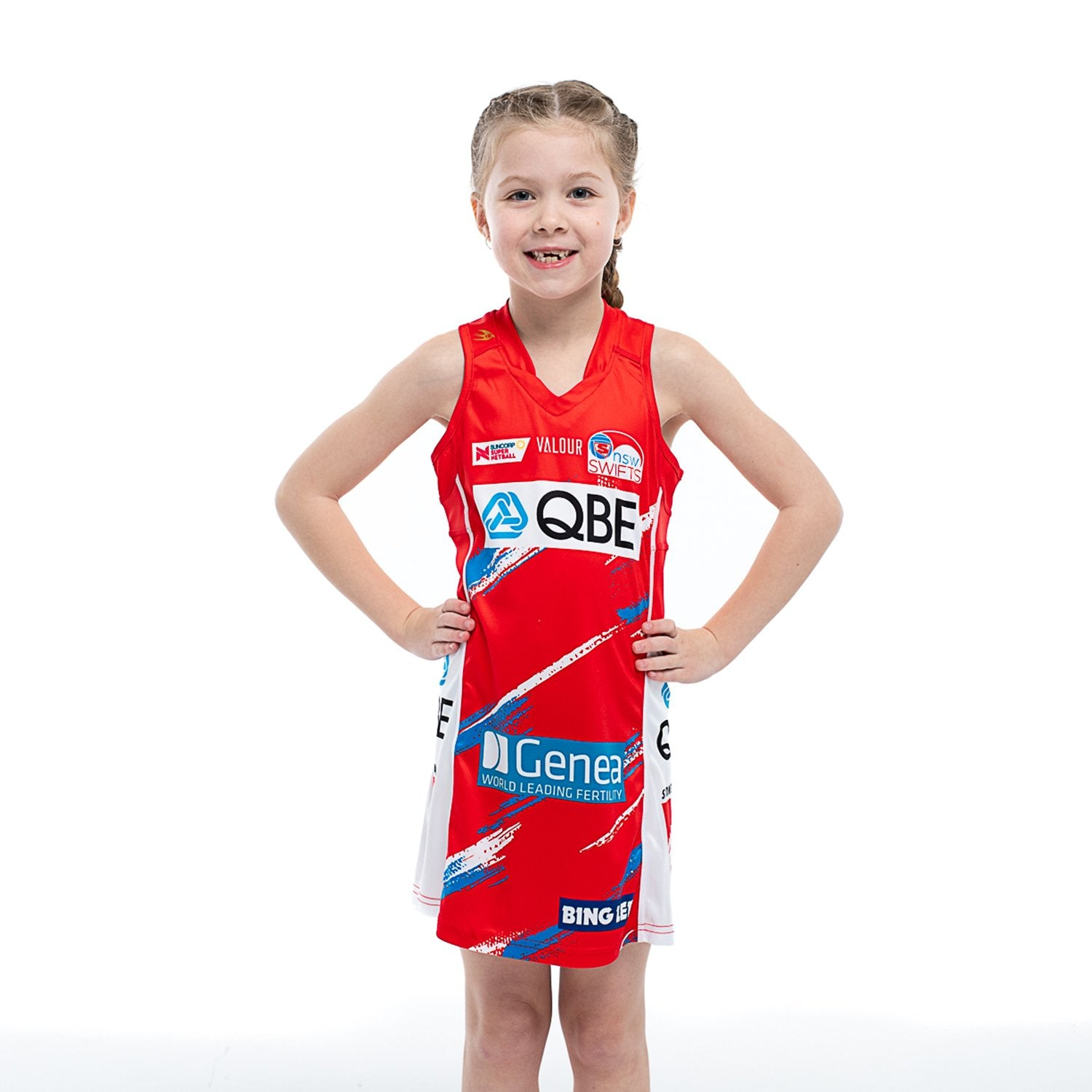 NSW Swifts Replica Netball Dress