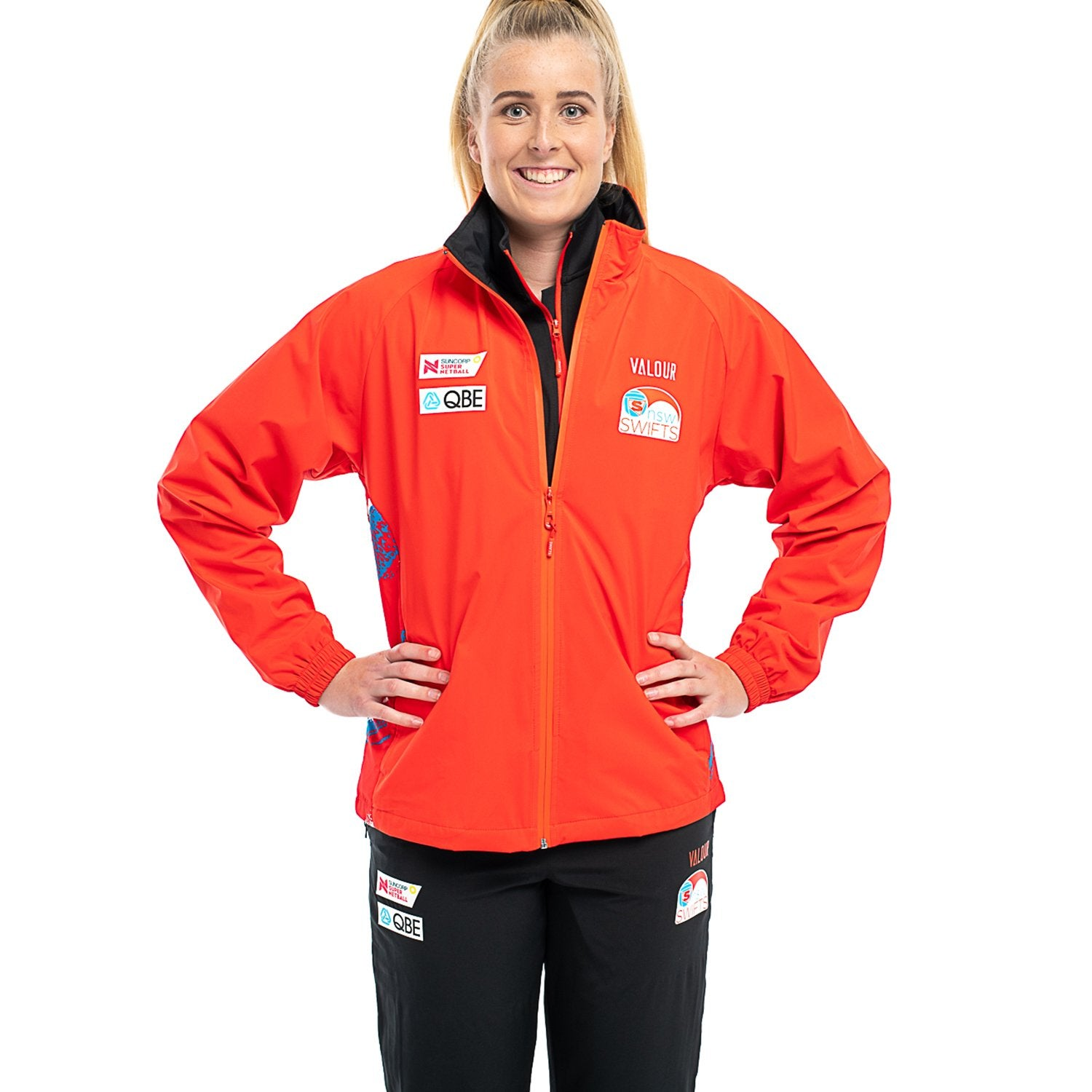 NSW Swifts Replica Zip Front Jacket