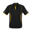 Kids Razor Polo in black with gold detailing